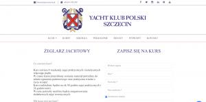 polecane kursy żeglarskie Szczecin